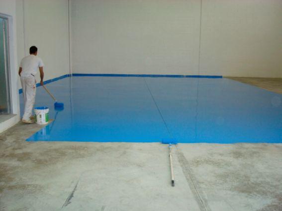 Jlutrera pintor pintura industrial suelos - Pintura de suelo ...